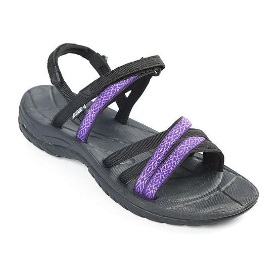 Northside Womens Carmella Adjustable Strap Flat Sandals