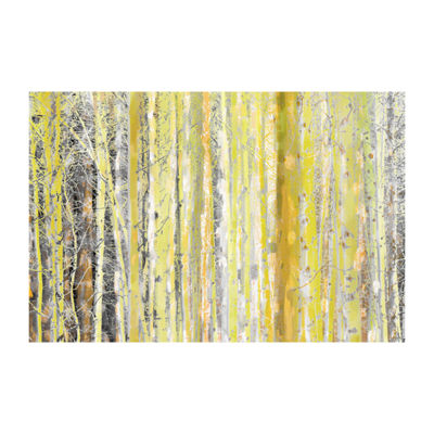 Aspen Forest 2 Painting Print on Wrapped Canvas