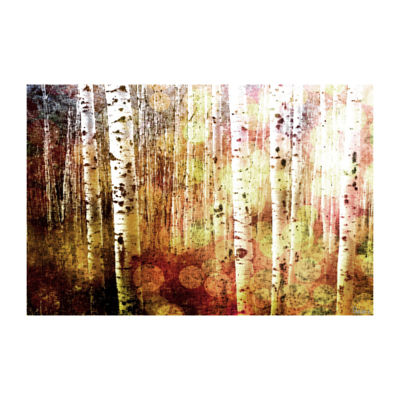 Aspen Painting Print on Wrapped Canvas