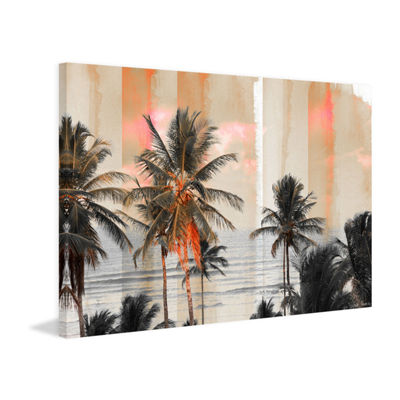 Bahia Painting Print on Wrapped Canvas