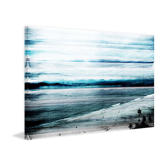 Banda Painting Print on Wrapped Canvas