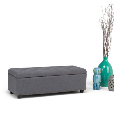 Hamilton Large Storage Ottoman Bench