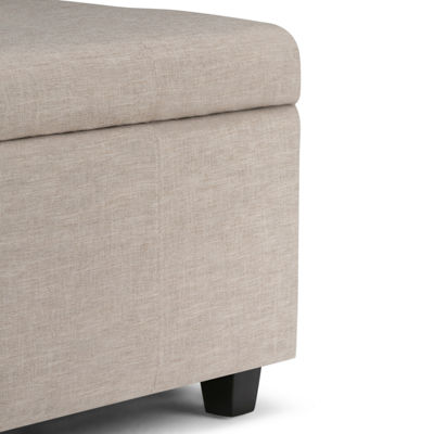 Castleford Large Storage Ottoman Bench