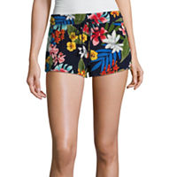 JCPenney deals on Arizona Twill Soft Shorts-Juniors