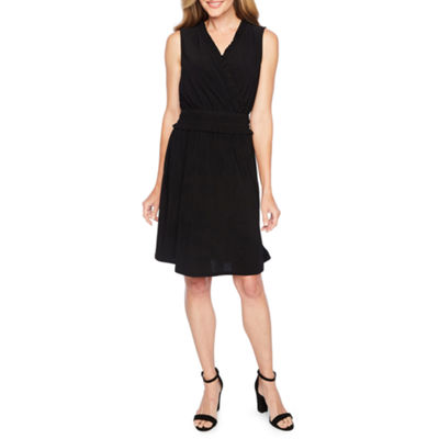 Emma And Michele Sleeveless Fit & Flare Dress