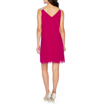 MSK Sleeveless Trapeze Dress