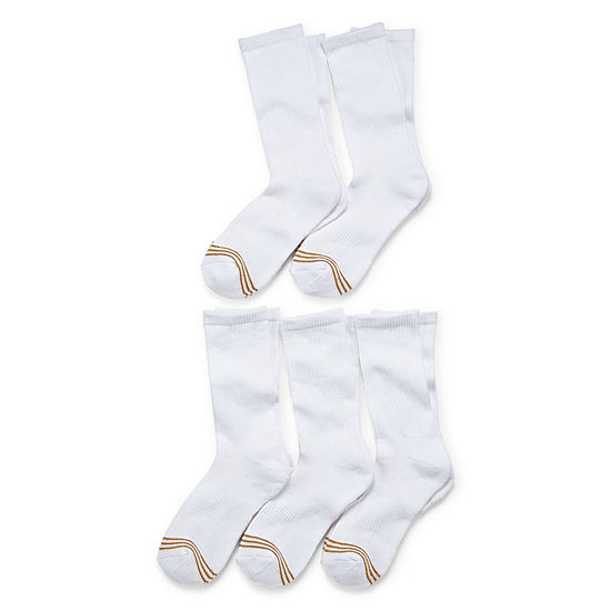 Gold Toe 7 Pair Crew Socks Girls Big Kid