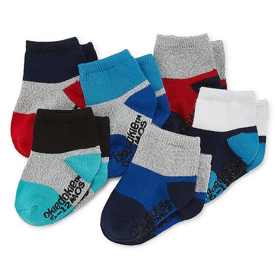 Okie Dokie 6 Pair Crew Socks