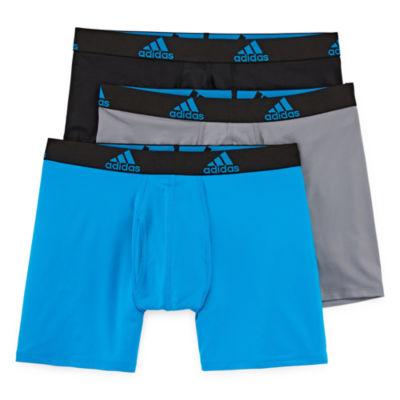 adidas® 3-pk. Climalite® Boxer Briefs