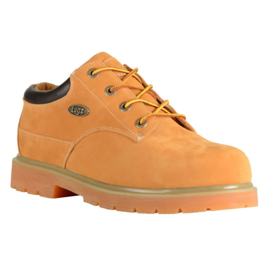 Lugz Mens Drifter Work Boots Water Resistant Slip Resistant Lace-up