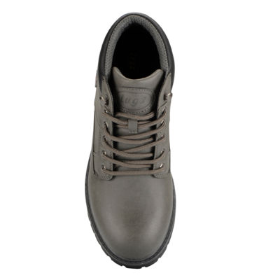 Lugz Mens Cairo Mid Work Boots Lace-up