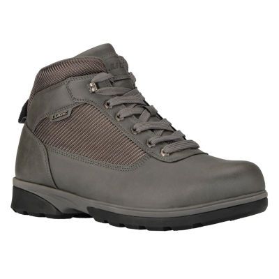 Lugz Mens Zeolite Mid Water Resistant Slip Resistant Work Boots Lace-up