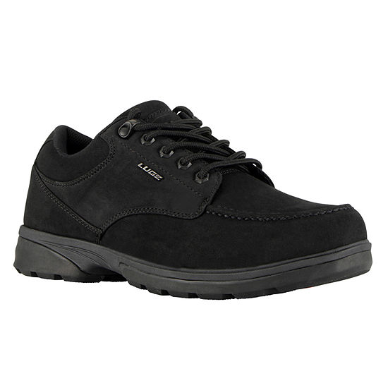 Lugz Mens Stack Lo Water Resistant Slip Resistant Work Boots