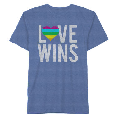 Pride Love Wins Graphic Tee