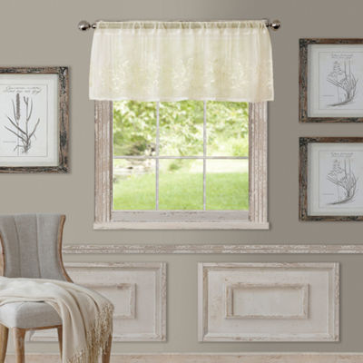 Addison Rod-Pocket Sheer Valance