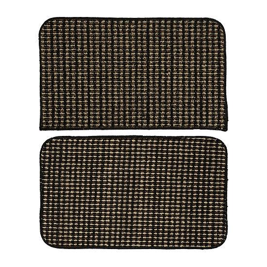 Garland Rug Set of 2 Berber Coloriations Rectangular Accent Rugs