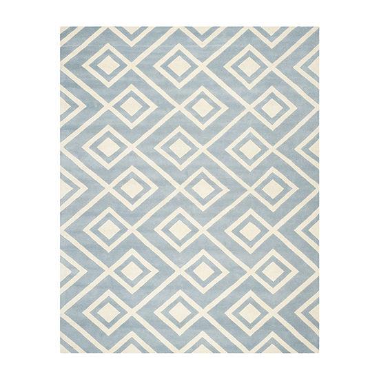 Safavieh Declan Geometric Hand Tufted Wool Rug