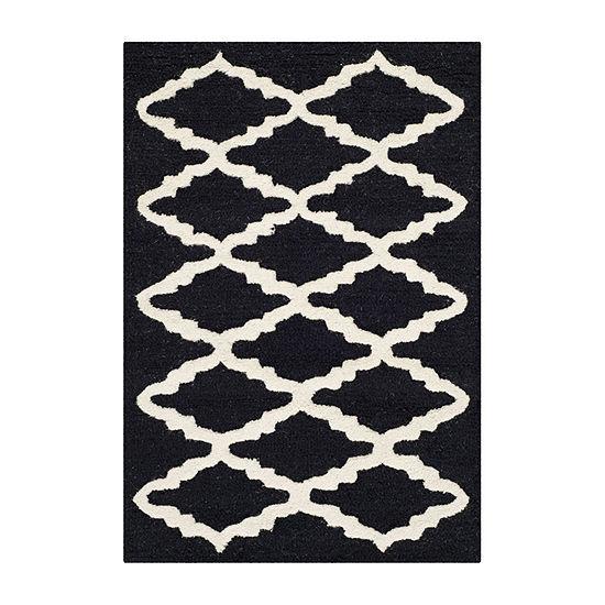 Safavieh Blake Geometric Hand-Tufted Wool Rug