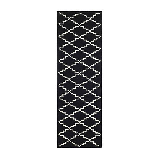 Safavieh Brittania Geometric Hand-Tufted Wool Rug