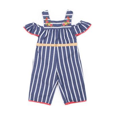 Little Lass Jumpsuit - Baby Girls