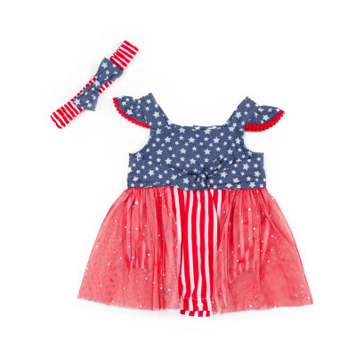 Little Lass Sleeveless Romper Girls