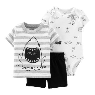 Carter's 3-pc. Short Set Baby Boys