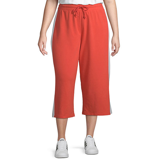 Flirtitude Womens Jogger Pant-Juniors Plus