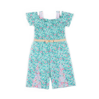 Little Lass Short Sleeve Jumper - Baby Girls