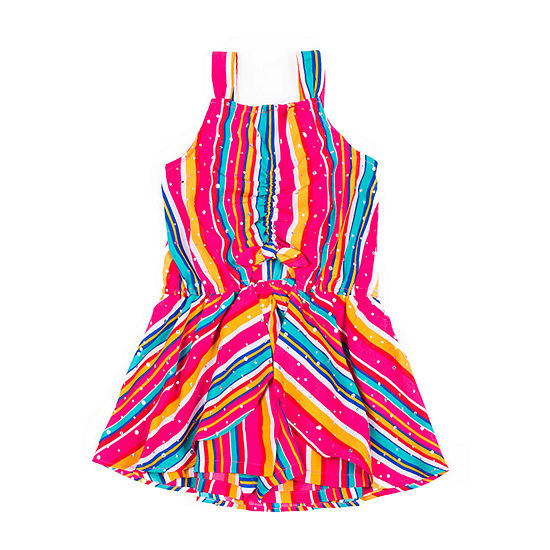 Little Lass - Baby Girls Sleeveless Romper