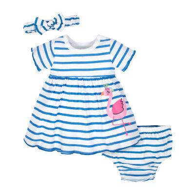Gerber Short Sleeve Babydoll Dress Girls