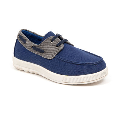 Deer Stags Little Kid/Big Kid Boys Evers Canvas Boat Shoe Boat Shoes Lace-up