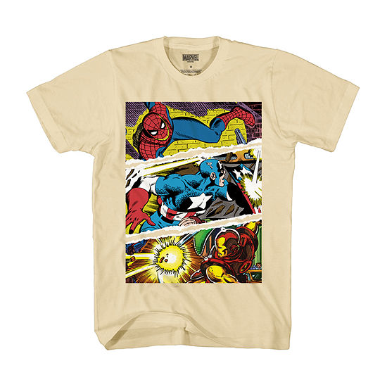 Mens Spiderman Graphic T-Shirt