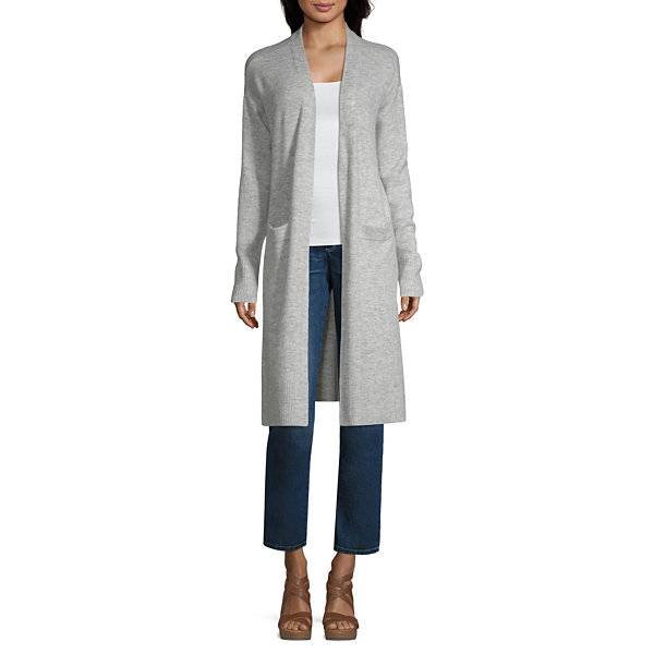 a.n.a Womens Long Sleeve Cardigan