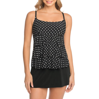 St. John's Bay Dots Swim Dress