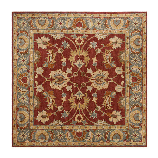Safavieh Heritage Collection Noelle Oriental Square Area Rug