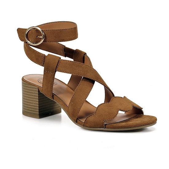 Dolce By Mojo Moxy Womens Eden Heeled Sandals