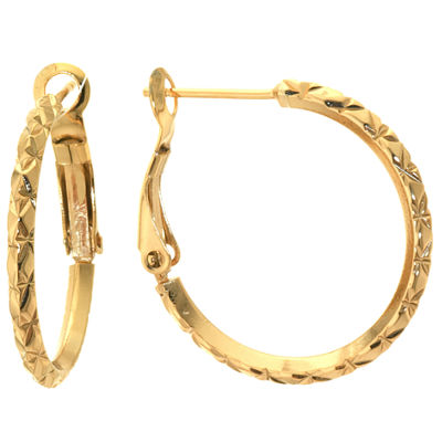 Sparkle Allure 25mm Hoop Earrings