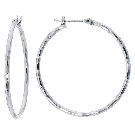 Sparkle Allure 40mm Hoop Earrings