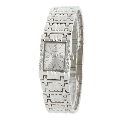 Womens Silver Tone Bracelet Watch-508893