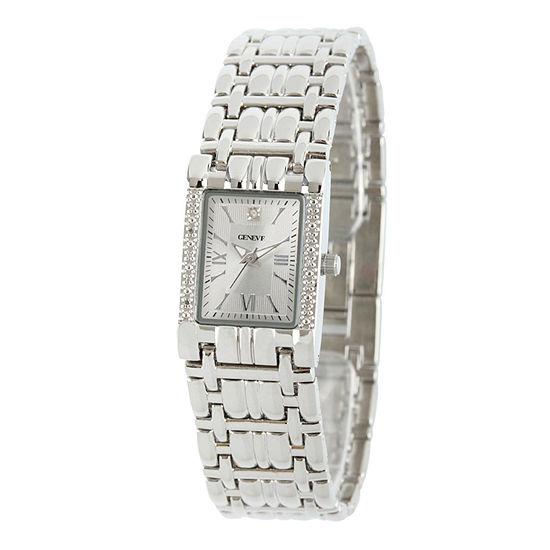Womens Silver Tone Bracelet Watch 508893