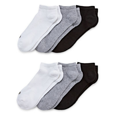 Xersion™ 6-pk. No-Show Cushion Socks - Extended
