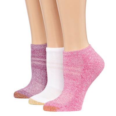 Gold Toe 3-pc. No Show Socks - Womens