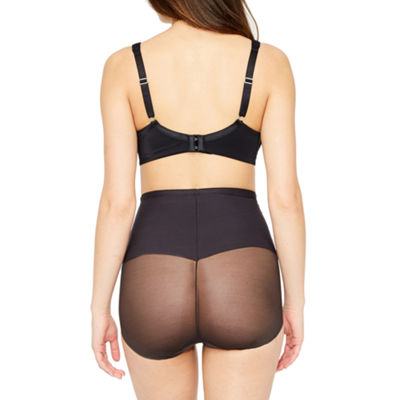 Ambrielle Sheer Wonderful Edge® High-Waist Firm Control Control Briefs 129-2000