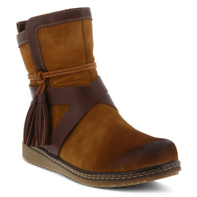 Spring Step Womens Patrina Booties Zip