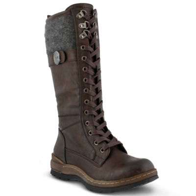 Spring Step Kyol Womens Combat Boots