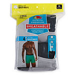 Fruit Of The Loom 3+1 Bonus Pair Breathable Lightweight Micro-Mesh Boxer Briefs