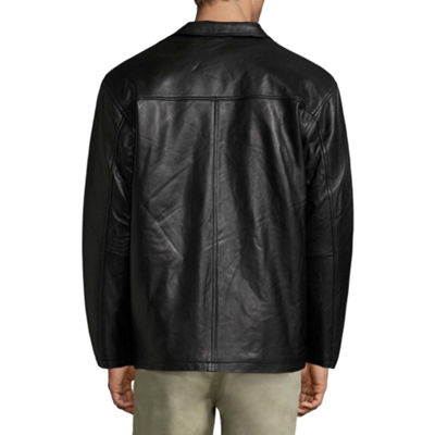 Vintage Leather Lambskin Leather Jacket with Zip Out Lining - Big
