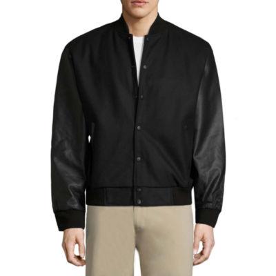 Vintage Leather Classic Varsity Jacket - Big
