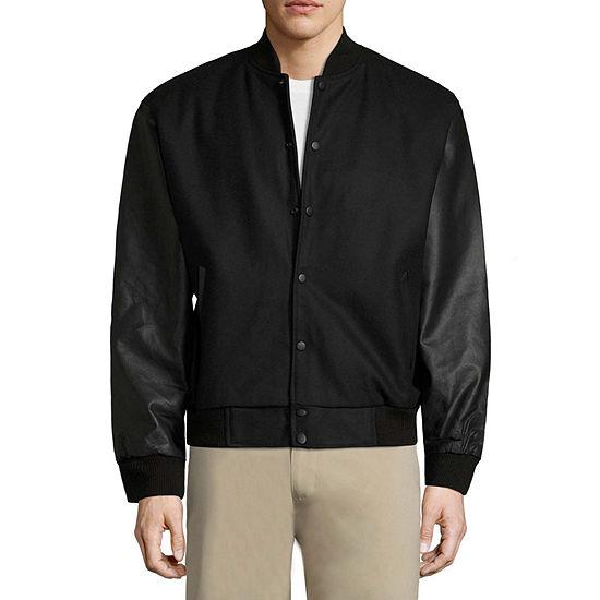 Vintage Leather Classic Varsity Jacket