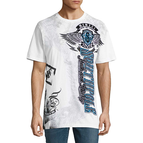 South Pole Short Sleeve Graphic T-Shirt